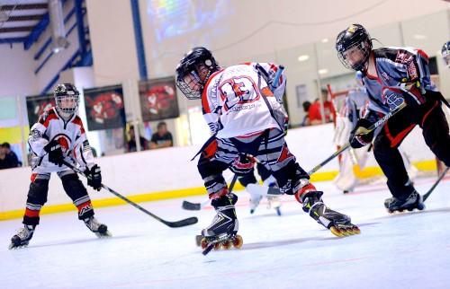 Farm Tough Roller Hockey Club play