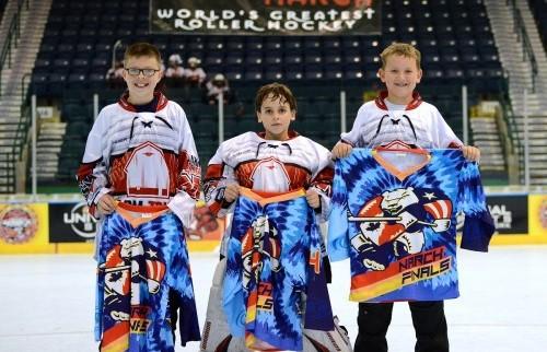 Farm Tough Roller Hockey Club players